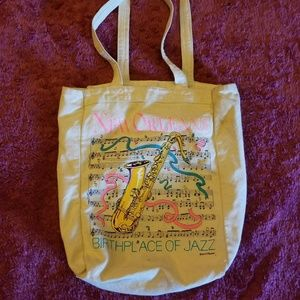 Vintage New Orleans Tote Bag